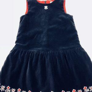 HANNA ANDERSSON Girls sleeveles jumper/110  5-6-6X